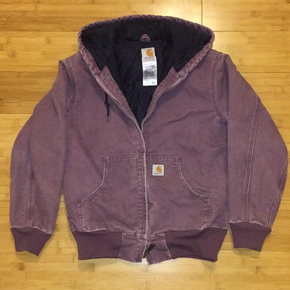 b352c8fb54 Carhartt Jackets & Blazers - Purple carhartt jacket